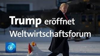 Donald Trumps Rede beim Weltwirtschaftsforum in Davos