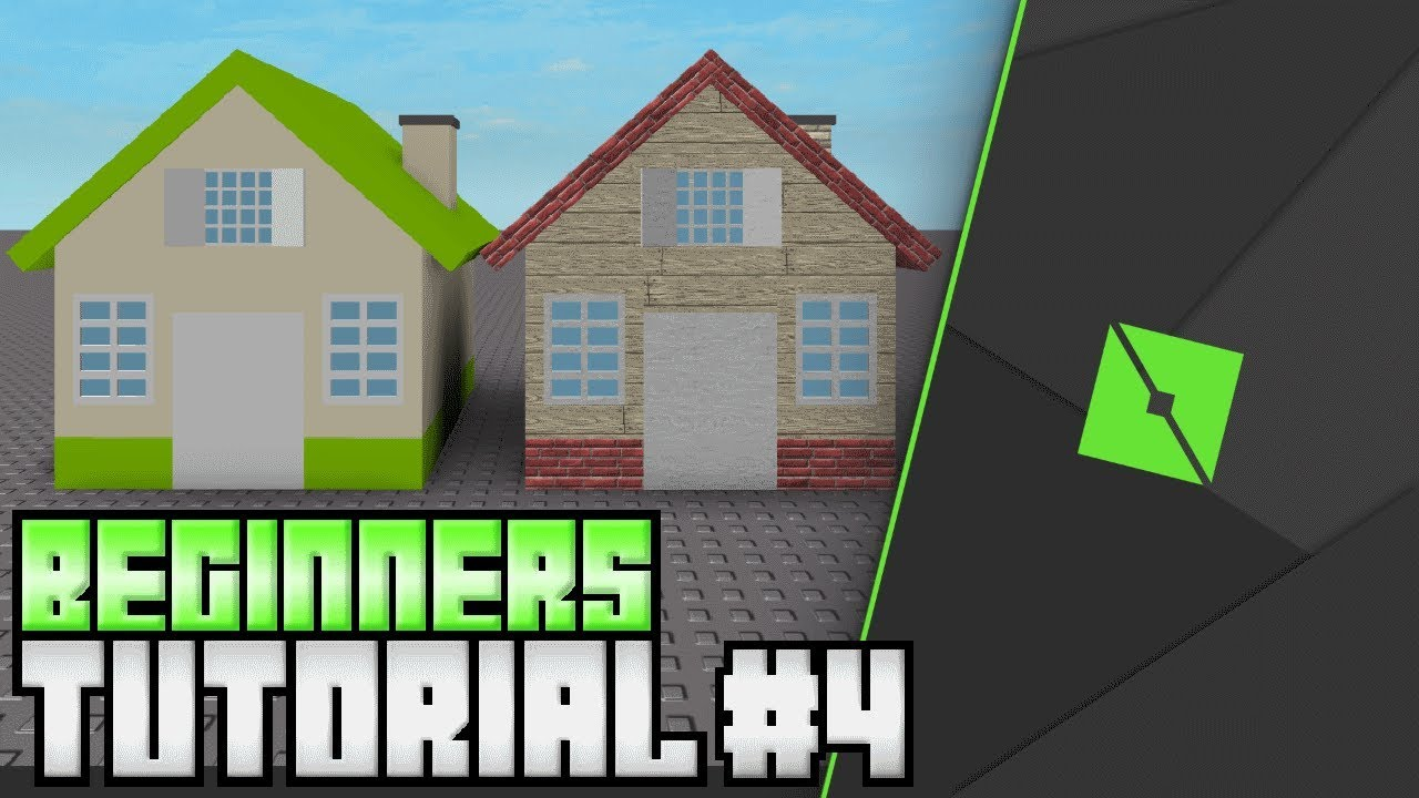 Roblox Studio: How to Make a House Tutorial!  Roblox Building for  Beginners Tutorial!