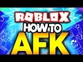 Best way to AFK in ROBLOX!