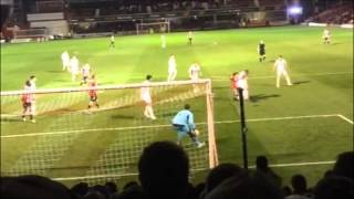 Fan Cam tells the story of the night Brentford moved 9 points clear of third.