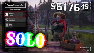 *SOLO* MONEY/ROLEXP/XP METHOD TRADER EDITION! (RED DEAD REDEMPTION 2)
