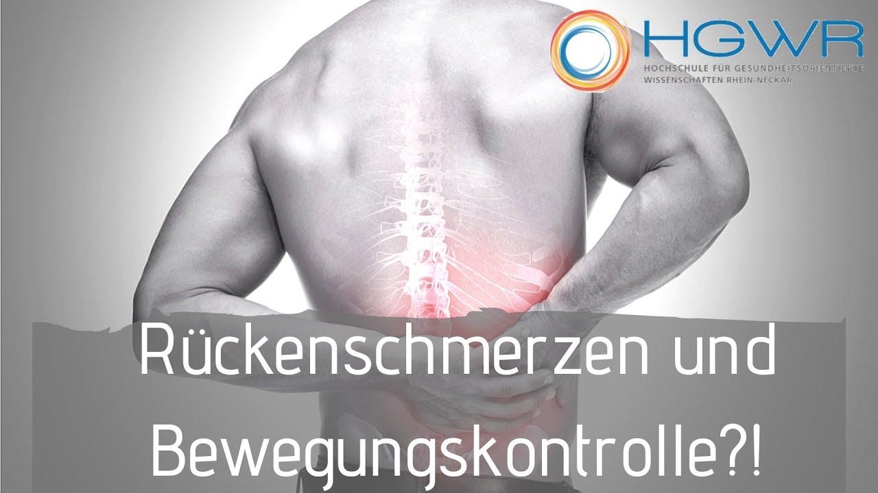 Rückenschmerzen beim Bücken: Ursache I Behandlung I..