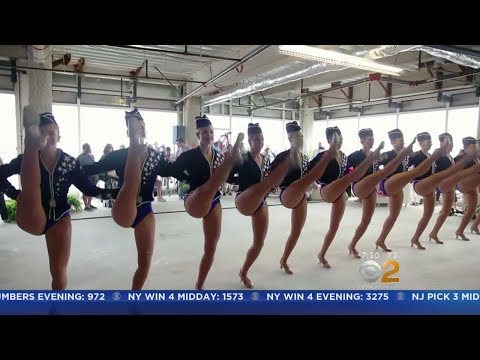 Radio City Rockettes Perform For The Troops
