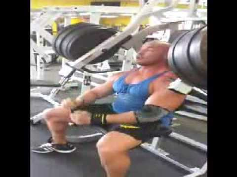GYMBO COLLINS! THE NATURAL PRO OFF SEASON INCLINE PRESS 540 LBS!!!