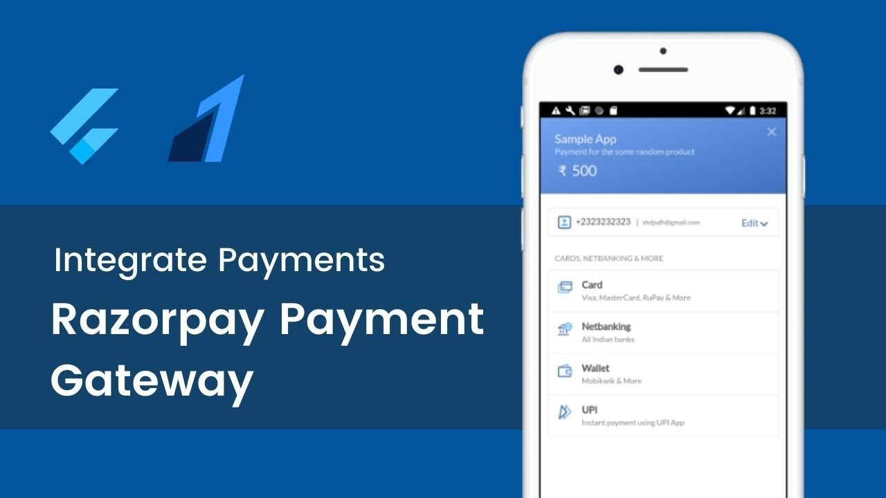 Integrate Payments in Flutter with Razorpay Payment Gateway