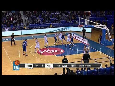 Full: Budućnost VOLI - Sutjeska [ABA – Round 12] [29/11/2015]