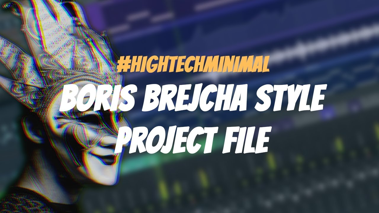 Boris Brejcha Style | High Tech Minimal FL Studio Project Walkthrough | FREE FLP DOWNLOAD
