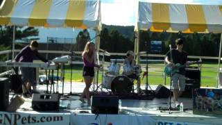 """popALERT performs """"Animal"""" by Neon Trees at Pet Rock Festival on September 9, 2012"""