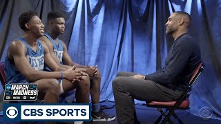 Grant Hill sits down with Zion Williamson and RJ Barrett | March Madness | CBS Sports