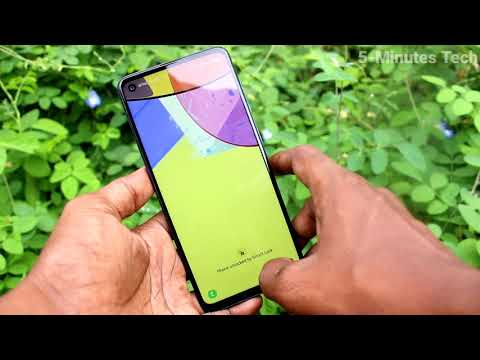 How To Change Wallpaper In Samsung Galaxy A21s Youtube