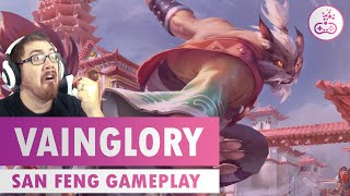 NEW HERO SAN FENG! Vainglory Gameplay - [Rumbly's Lounge]