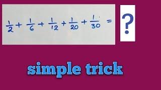Fraction tricks in Telugu - 1|| fractions shortcuts in Telugu -1||