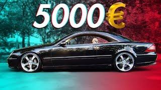 Die günstigsten Autos ohne B Säule | RB Engineering | Mercedes Benz C215 CL500