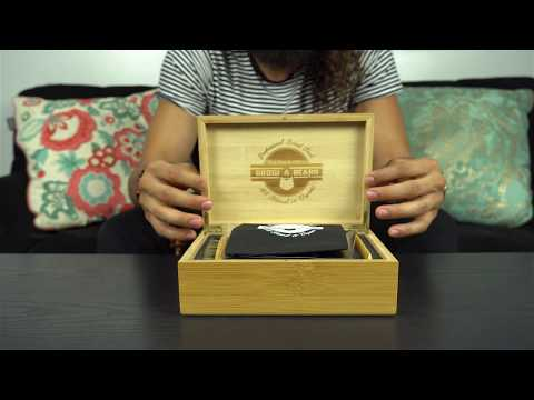 Unboxing Beard Grooming Kit New Style Bamboo Box #1