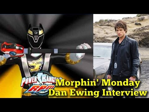 Dan Ewing Interview (Power Rangers RPM): Morphin' Monday
