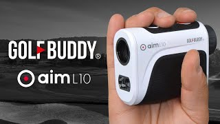 GOLFBUDDY Laser Rangefinder with Slope - aim L10