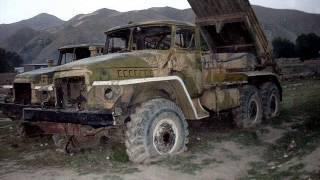 Афганистан С барского плеча.Брошенная техника.