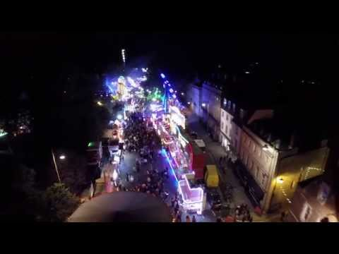 Oxford St Giles Fair From The Air  2015