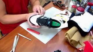 Замена сеточки на кроссовках. Ремонт обуви