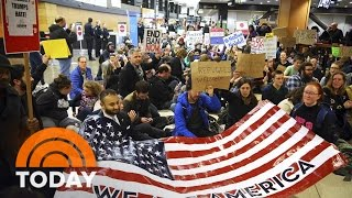 President Donald Trump's Travel Ban Sparks Nationwide Protests | TODAY