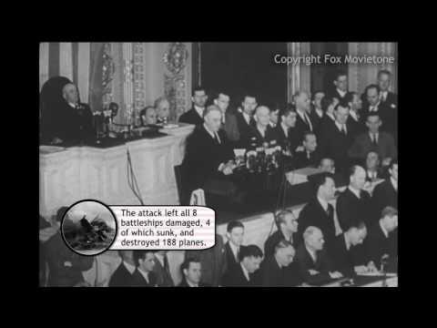 Day of Infamy Speech - Pop-Up Video