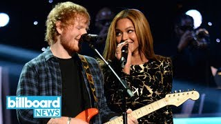 Ed Sheeran and Beyonce Top Hot 100 With