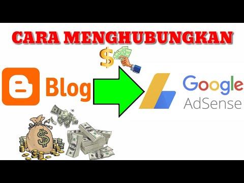 Cara Menghubungkan Blog ke Google Adsense | Dapat Uang dari Blogger