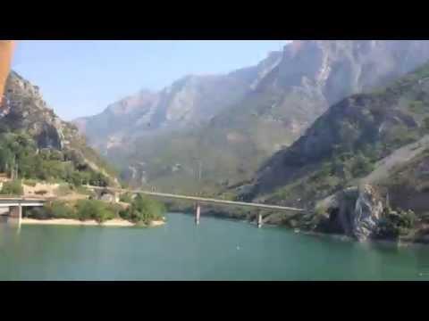 Bosnia by train
