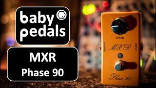 MXR Custom Shop Phase 90 LED - babypedals