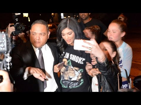 Kylie Jenner Shouts 'Don't Touch Me!' To Tween girls Celebrating Lip Gloss Launch With Kendall