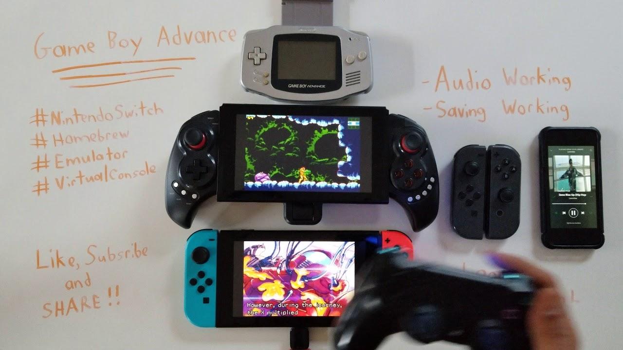 Nintendo Switch GAME BOY ADVANCE - Homebrew GBA Emulator/Virtual Console  METROID FUSION/ZERO