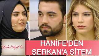 Zuhal Topal'la 119. Bölüm (HD) | Anna ile Yoluna Devam Eden Serkan'a Hanife'den Tepki!