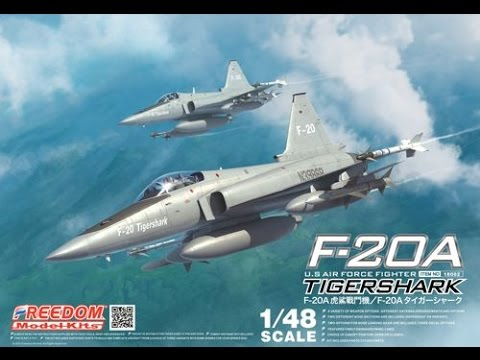 Freedom Models : F-20A Tigershark : 1/48 Scale Model : In Box Review