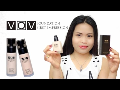VOV FOUNDATION FIRST IMPRESSION REVIEW