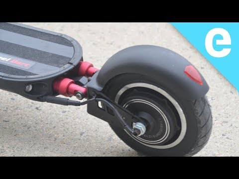The Turbowheel Dart 25 mph electric scooter is 1.2 kW worth of fun