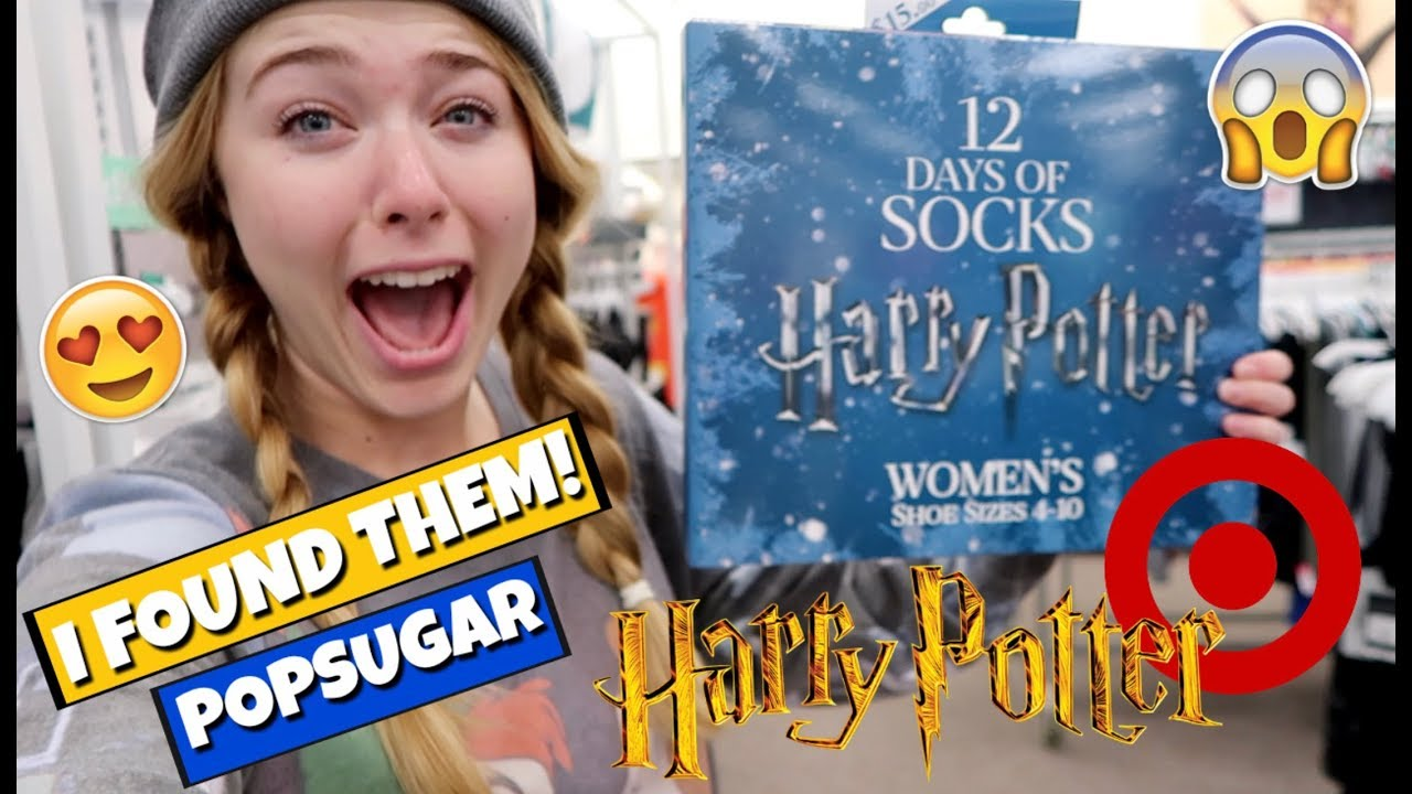 harry potter 12 days of socks hunt down target adventures bake with me elise ever after