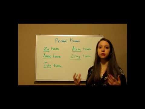 Malagasy-Personal Pronouns