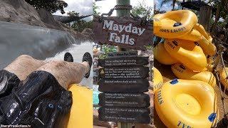 Mayday Falls (On-Ride 4K) Typhoon Lagoon - Walt Disney World