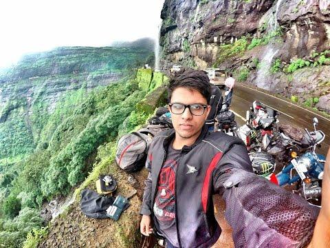 Ride To Malshej Ghat-- ONE EPIC RIDE ( CRASH ,BURNOUTS, FLAME SPITTING, FUN)