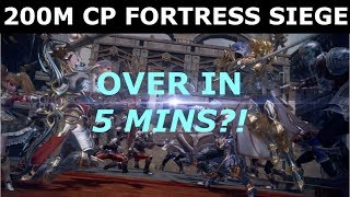 Lineage 2 Revolution 200M CP FORTRESS S EGE  OVER  N 5 M NS