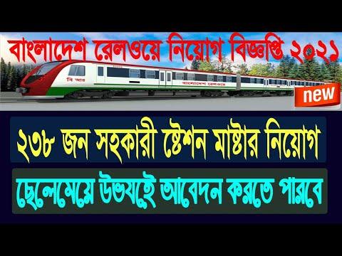 ২৩৪৯০ টাকা বেতনে বাংলাদেশ রেলওয়ে নিয়োগ বিজ্ঞপ্তি ২০২১, Bangladesh Railway Job Circular 2021