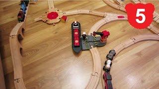 Эпизод 5 Деревянная железная дорога Брио, Томас, Чаггингтон, BRIO, Thomas, Chuggington