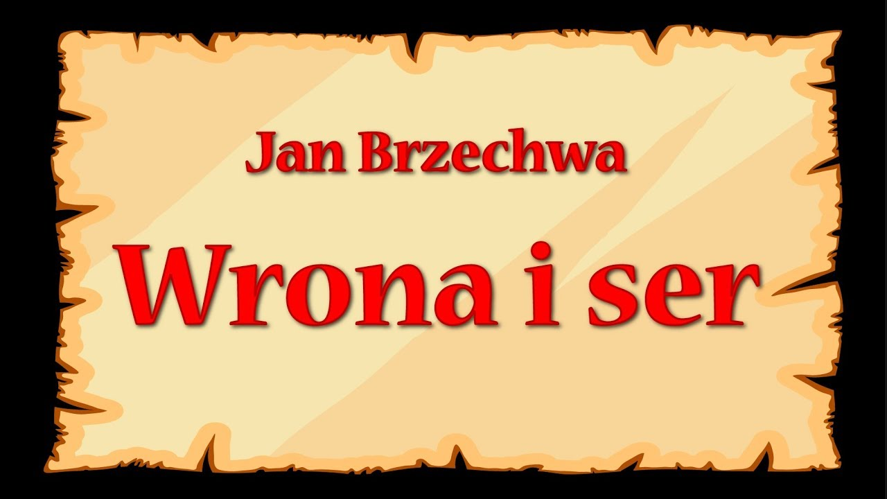 Wrona I Ser Jan Brzechwa Znane Wierszyki Dla Dzieci Czytane Do Poduszki