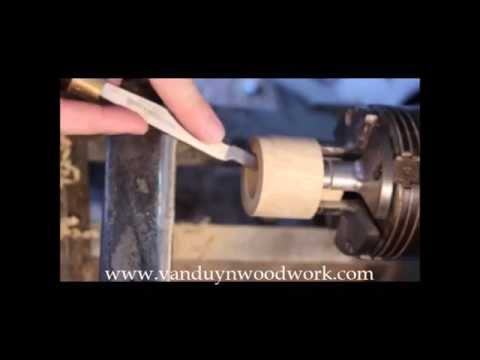 Wood Turning - Cutting Threads in Wood, part 1
