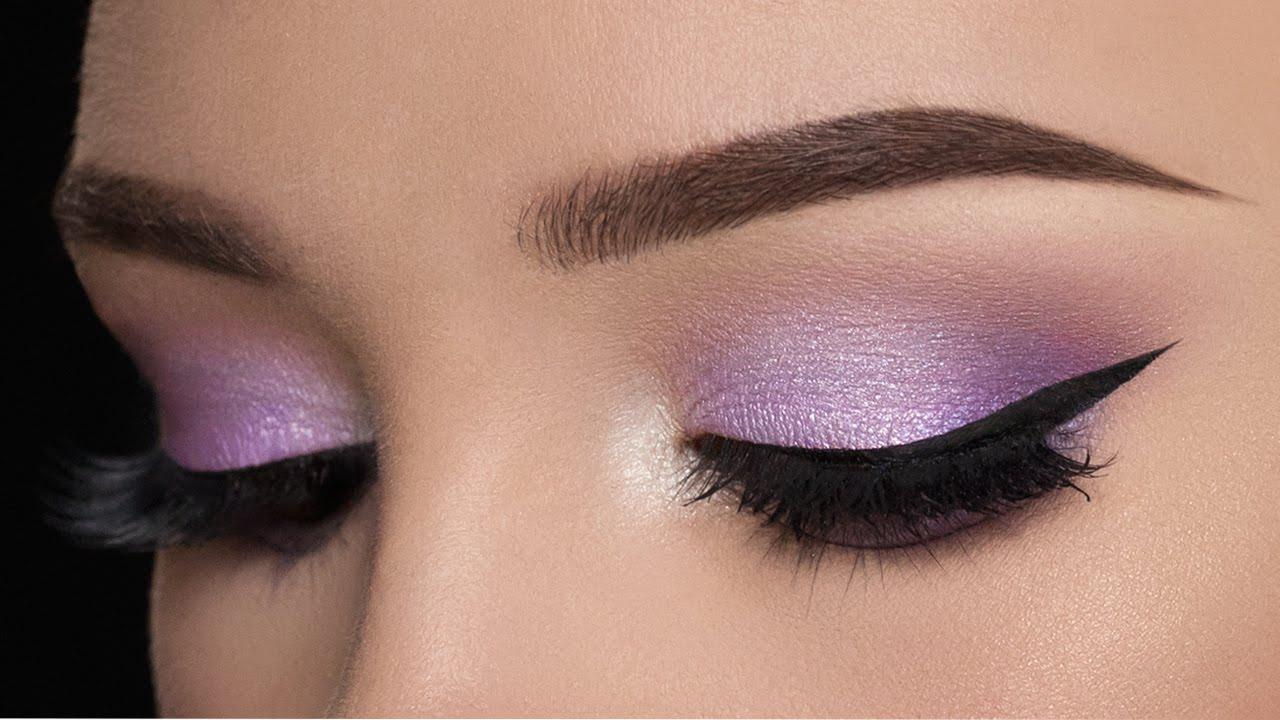 Lilac Smokey Eye Makeup Tutorial Youtube