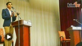 Incumbent Muar MP proposes closed-door debate with Syed Saddiq