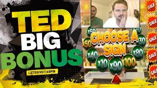 Big bonus in Ted slot machine