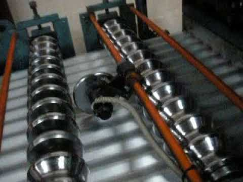 Combine Corrugation & Step tile machine - Fiji Island