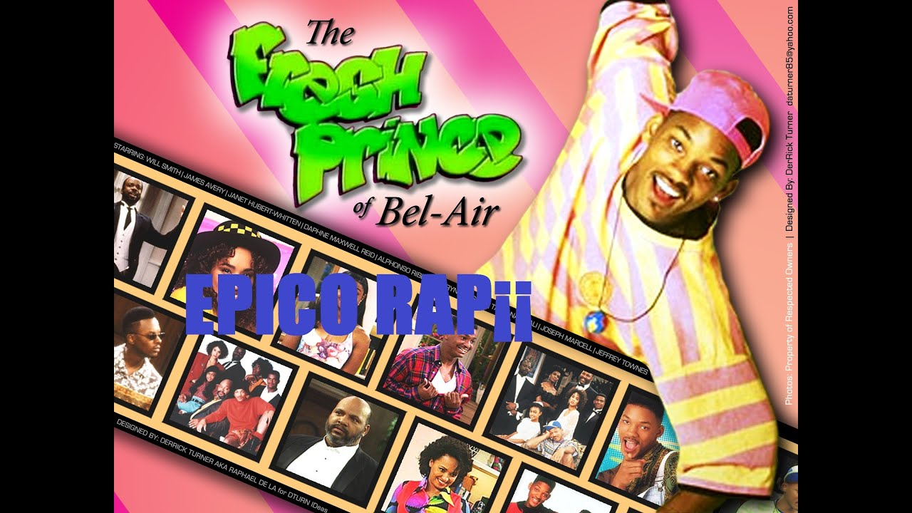 Comedia Will Smith Jade Dj Jazzy Y Alfonso Ribeiro Rap D Youtube