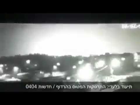 Момент падения израильского F-16 попал на видео